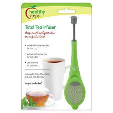 Jokari Healthy Steps Total Tea Infuser Steeper & Press
