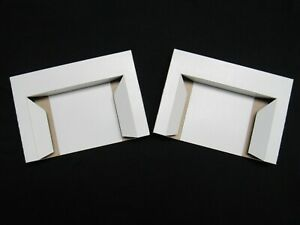 (2) SNES Cart inserts – new stamped cardboard tray game drawer stabilizer