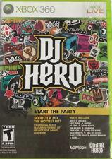 DJ Hero (Microsoft Xbox 360) GAME COMPLETE JAY-Z EMINEM RIHANNA 50 CENT +++ CIB