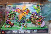 Lego Elves Store Display 41174 41171 41175 41176 41172 5 Sets Lighted Works Rare
