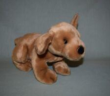 """Plush Russ Berrie #4380 Dog Puppy Golden Retriever 12"""" w collar"""