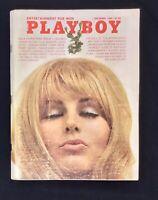 Playboy Magazine, December 1969🐇VERY GOOD Condition, Joe Namath Interview