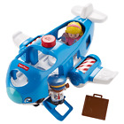 Fisher- Little People Travel Together Airplane with Pilot Kurt & Emma Figure