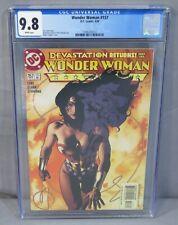 WONDER WOMAN #157 (Adam Hughes cover) CGC 9.8 NM/MT DC Comics 2000