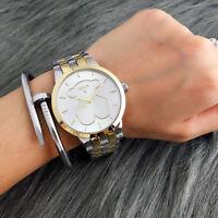 Fashion Women's Dress Stainless steel Wristwatch hollow out Bear Watch
