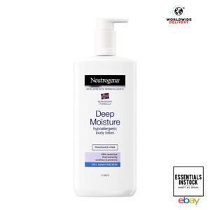 Neutrogena Deep Moisture Hypoallergenic Body Lotion 400 ml for Sensitive Skin