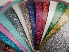 Tessuto Pellicola Film Glitter termoadesivo 25cm x 25cm adesivo a caldo