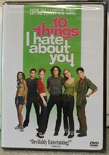 10 Things I Hate About You (DVD 1999) RARE  ORIGINAL VERSION HEATH LEDGER NEW