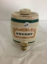 Royal Victoria Wade Pottery Sherry  Decanter Made in England Vintage