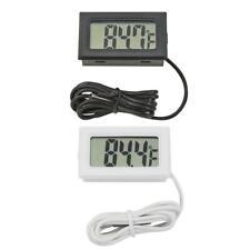 Termómetro Electrónico Digital LCD Mascota Pez Tanque de temperatura mrter Medir Herramienta