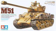 Tamiya America [TAM] 1/35 Israeli Tank M51 Plastic Model Kit 35323 TAM35323