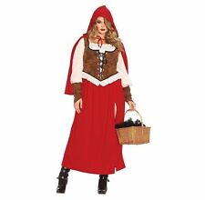 L Adult 2 Piece Leg Avenue 8089 Size S Red Riding Hood Costume M XL