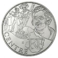 Pièce de 10 euros en argent de la région Centre - Euro des régions 2012 -