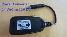 24 Volt AC to 12V DC Power Converter Reducer Adaptor
