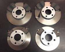 QUALITY JURATEK FRONT & REAR BRAKE DISCS AND PADS VW PASSAT 3B - CHECK SIZES
