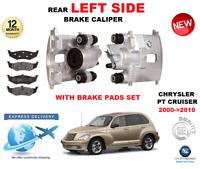 FOR CHRYSLER PT CRUISER 2000->2010 NEW REAR LEFT BRAKE CALIPER WITH BRAKE PADS