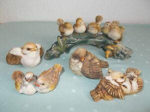 Vogelgruppe aus Italien, Lucchese ?