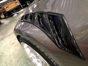 Carbon fender vents for Nissan 370Z Z33