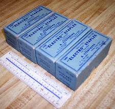 "15000 ELECTRO STAPLES 1/2"" Wide 3/8"" Deep , Tack Point Staples 1960s"