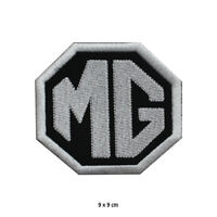 MG Motor Car Brand Logo Embroidered Patch Iron on Sew On Badge For Clothes