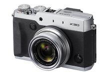 Fujifilm FinePix X Series Silver Digital Cameras