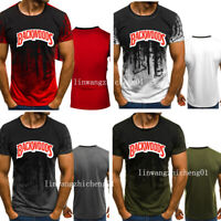 Backwoods Logo Cigars Graphic 3D Print Men's T-shirt Male Short Sleeve Tee Top