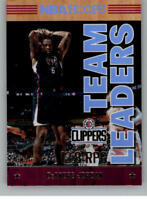 2017-18 Panini Hoops Team Leaders Basketball Insert Cards Pick From List