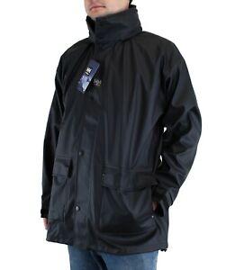 Helly Hansen Men's Jacket Impertech Deluxe Workwear Waterproof Hooded Rain Coat