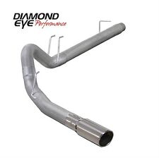 "DIAMOND EYE K4360A - 4"" Filter-Back Exh For Ford Powerstroke 6.4L 08-10"