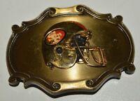 Vintage 1978 San Francisco 49ers Raintree Helmet NFL Brass Belt Buckle Rare