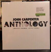 JOHN CARPENTER - Anthology Vinyl Record LP Anti-God Green Variant