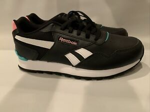 NWT REEBOK CLASSIC Women's Ortholite Athletic Sneakers Running Shoe Black SZ 7.5