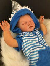 ADORABLE REBORN BABY BOY JOSHUA -A KIT BY REVA SCHICK REBORN BY EMA BENNETT
