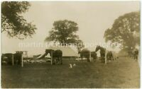 Military Camp Beccles, Suffolk Real Photo Postcard, B973