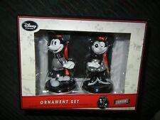 Disney Mickey & Minnie 1928 85Th Anniversary Edition Ornament Set Reduced!