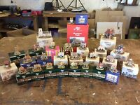 Joblot Of 26 Lilliput Lane Ornaments. All Perfect, Boxed With Deeds