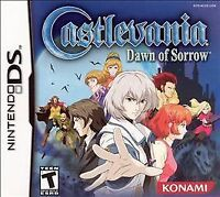 Castlevania: Dawn of Sorrow (Nintendo DS, 2005) GAME CARD ONLY, TESTED & WORKING
