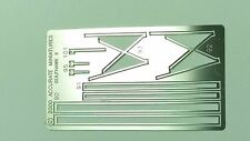 Photo Etch Stainless Rigging Kit for 1:48 Gulfhawk ll G-22   Accurate Miniatures