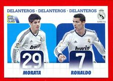 REAL MADRID 2012-2013 Panini - Figurina-Sticker n. 25 - MORATA - RONALDO -New