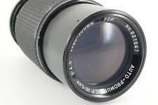 Auto-Promura lente de zoom 80-200mm 1:4 .5 Pentax PK macro