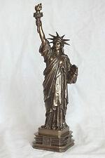 Estatua of Liberty, bronziert, 31,5cm, personaje, poliresina, estatua de la libertad, estados unidos, New York,