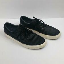 Nike Zoom Air Sz 10.5 Stefan Janoski Leather Skate Everyday Casual Shoes Black