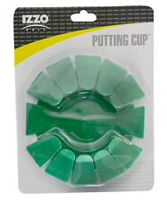 Izzo Golf Putting Cup - Golf cup with tilting section and automatic release