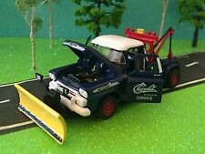 1958 Chevrolet Apache Tow Truck Plow, Hook, Opening Doors & Hood Beautiful Truck
