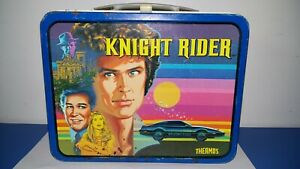 VINTAGE LUNCHBOX KNIGHT RIDER METAL 1982 EXCELLENT CONDITION