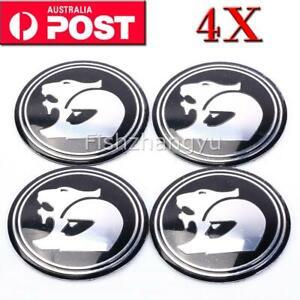 4PCS Holden Wheel Hub Cap Sticker HSV Style Center Caps 56MM AUS