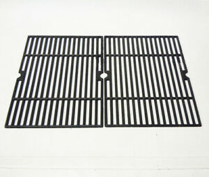 Genuine Char Broil Commercial Series BBQ Grill Grates Cast Iron 17 1/4 x 26 3/4