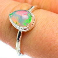 Ethiopian Opal 925 Sterling Silver Ring Size 8 Ana Co Jewelry R46407F