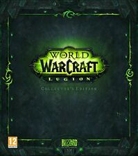 PC NEW SEALED GAME * WORLD OF WARCRAFT - LEGION * Collector's Edition