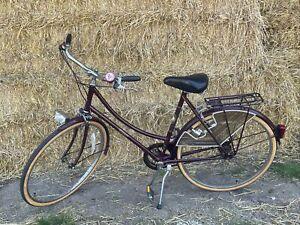 "Raleigh Ladies Cameo Dutch Style Loop Frame Town Bike 21"" Frame Free Pp"